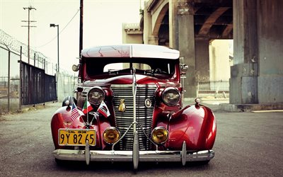 Chevrolet Master Deluxe, 1939, tuning, lowrider, vintage cars, American classic cars, Cuba, Chevrolet