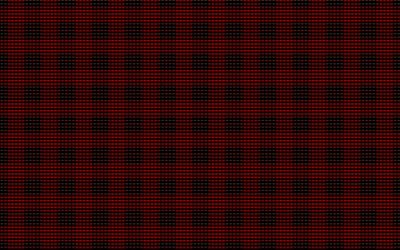 black red pixel texture, pixel background, black red creative background, texture with squares