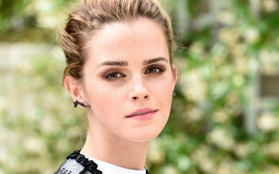 Emma Watson, portrait, face, British actress, photo shoot, British star, Emma Charlotte Duerre Watson