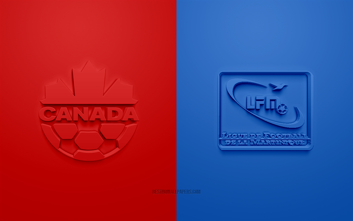 Canada vs Martinique, 2019 CONCACAF Gold Cup, football match, promotional materials, North America, Gold Cup 2019, Canada national football team, Martinique national football team