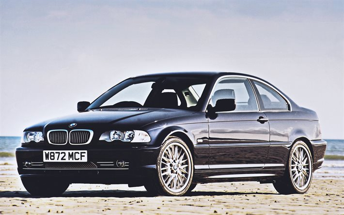 Download Wallpapers Bmw 330ci Coupe 4k E46 2001 Cars Uk Spec 2001 Bmw 3 Series Bmw E46 German Cars Bmw For Desktop Free Pictures For Desktop Free