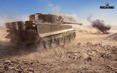 World of Tanks, German heavy tank, Tiger 131, WoT