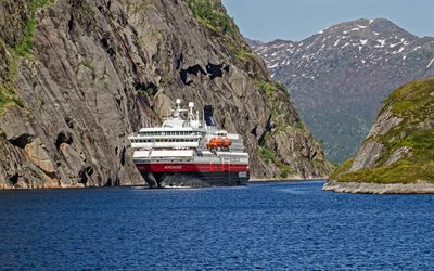 MS Nordnorge, cruise ship, fjord, Norway