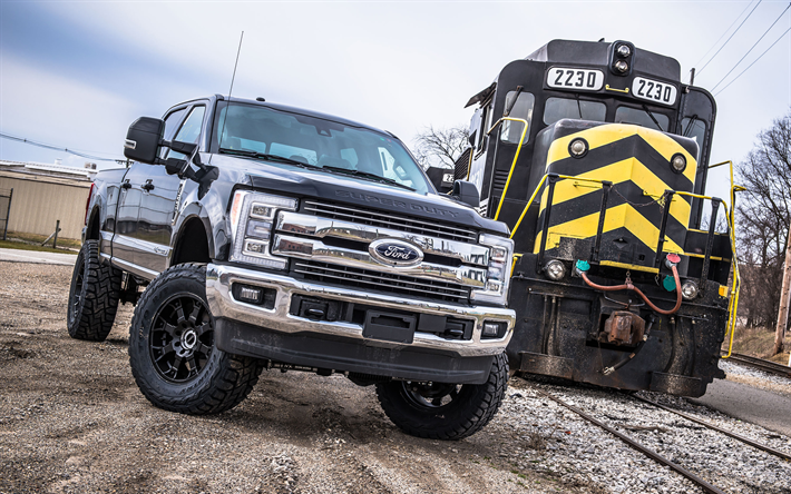 Download wallpapers Ford F-250 Super Duty, 2018 cars ...