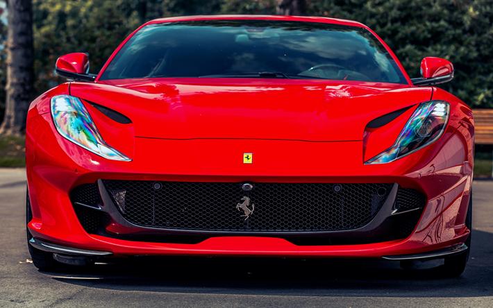 Descargar Fondos De Pantalla 4k, Ferrari 812 Superfast De