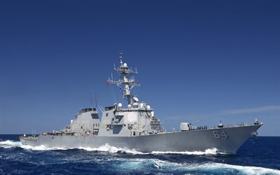 USS Carney, sea, DDG-64, US Navy, destroyer, NATO, warship