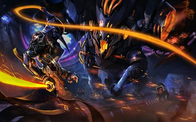 Master Yi, artwork, MOBA, warrior, League of Legends, Master Yi League of Legends, League of Legends characters