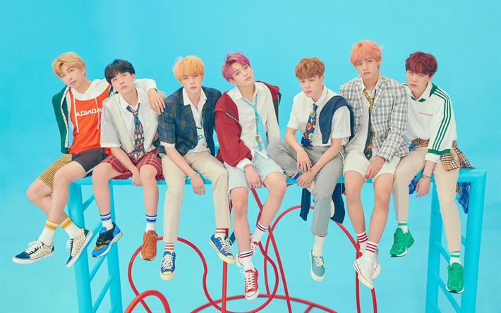 Download Wallpapers 4k Bts 2019 Korean Band Kpop Korean