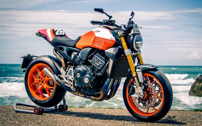 Honda CB1000R Dani Pedrosa, 4k, superbikes, 2019 bikes, close-up, 2019 Honda CB1000R, japanese motorcycles, Honda