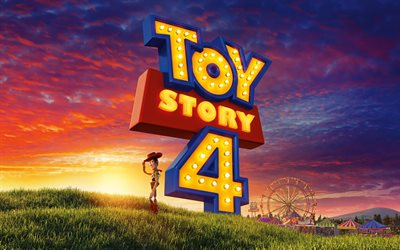 Toy Story 4, 2019, Sheriff Woody, poster, promo materials, main character