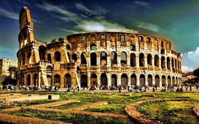 Colosseum, Rome, Italy, Rome attractions, tourism