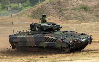 Puma, IFV, infantry fighting vehicle, modern armored vehicles, German army