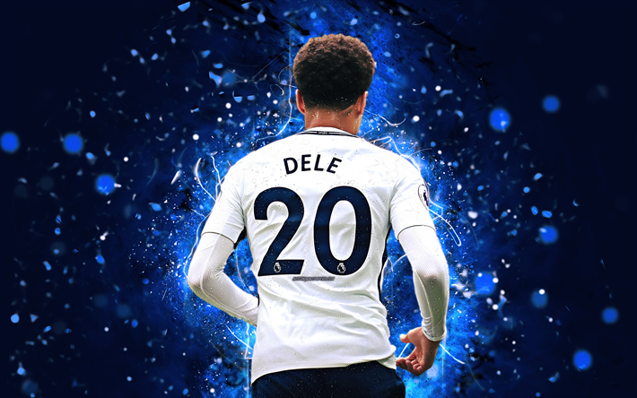 Download Wallpapers Dele Alli, 4k, Back View, English