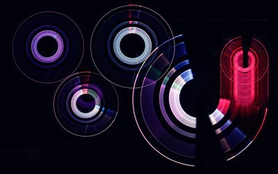 purple circles, pink circles, abstract circles