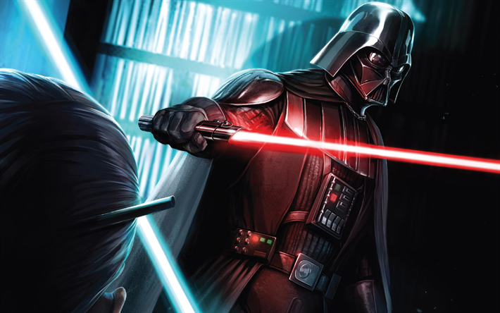 Descargar Fondos De Pantalla Darth Vader 4k Star Wars