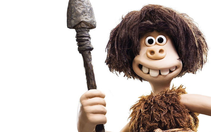 Early Man, 2018, Dug, new cartoons, 3d animation, Eddie Redmayne