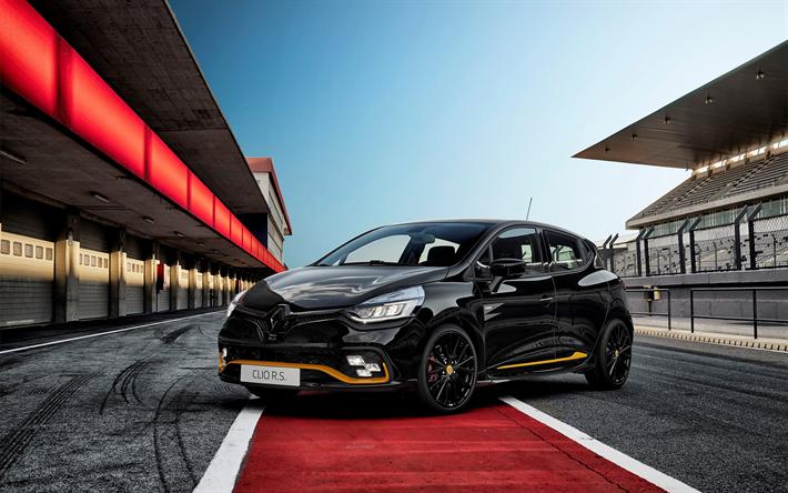 Renault Clio Rs >> Lataa Kuva Renault Clio Rs 18 2018 Musta Viistopera