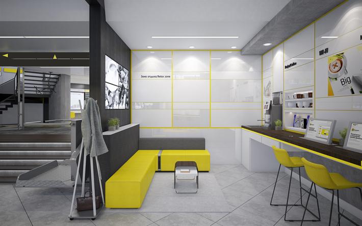 Scarica Sfondi Ufficio 4k Interni Eleganti Ufficio Interno