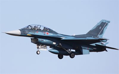 Mitsubishi F-2, Japan Air Self-Defense Force, japansk fighter, Det japanska flygvapnet, General Dynamics F-16 Fighting Falcon
