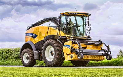 New Holland FR550 Forage Cruiser, 4k, combine harvester, 2020 combines, harvesting concepts, New Holland