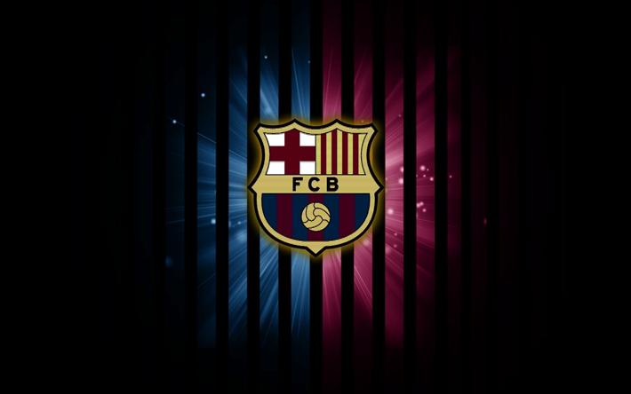 Download wallpapers fc barcelona logo fcb darkness la liga fc barcelona logo fcb darkness la liga barca barcelona voltagebd Choice Image