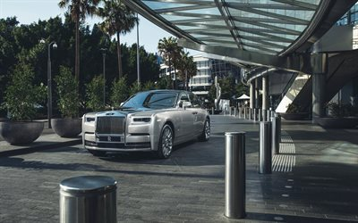 4k, Rolls-Royce Phantom, 2017 cars, new Phantom, luxury cars, Rolls-Royce