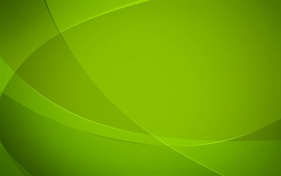 green waves, Green abstract background, 4k, green wallpaper, creative