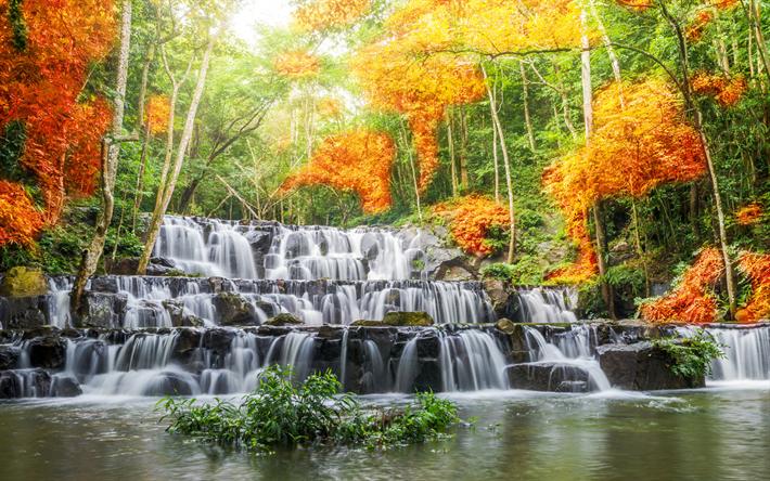 foto de Télécharger fonds d'écran cascade chute d'eau rivière