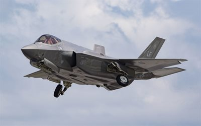 bomber-fighter, Lockheed Martin F-35, Lightning II, US Air Force, F-35