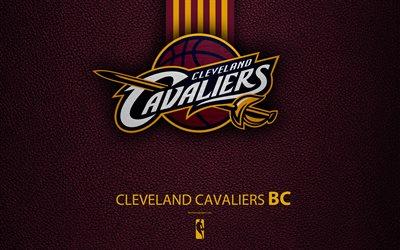 Cleveland Cavaliers Logo Wallpaper >> Download wallpapers Cleveland Cavaliers, 4K, logo, basketball club, NBA, basketball, emblem ...