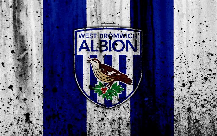 Download Wallpapers FC West Bromwich Albion, 4k, Premier