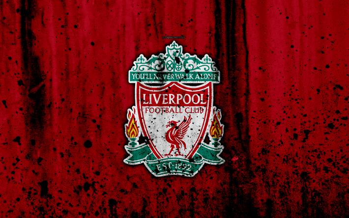Herunterladen Hintergrundbild Fc Liverpool 4k Premier