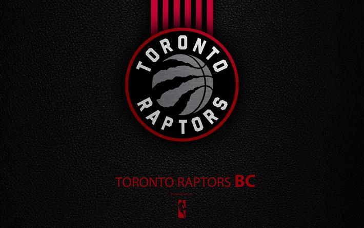 Download wallpapers toronto raptors 4k logo basketball - Toronto raptors logo wallpaper ...
