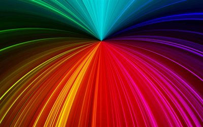 rainbow abstract background, colorful background, rainbow lines background, creative art