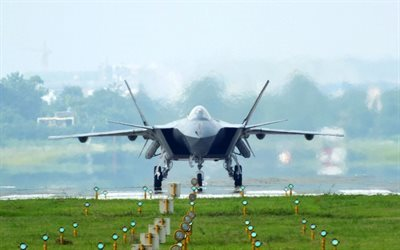 fighter, Chengdu J-20, Chinese fighter, China Air Force, aircraft, China