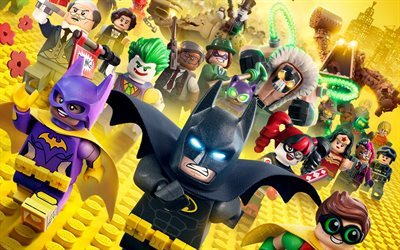 The Lego Batman, 2017 movie, 3d-animation