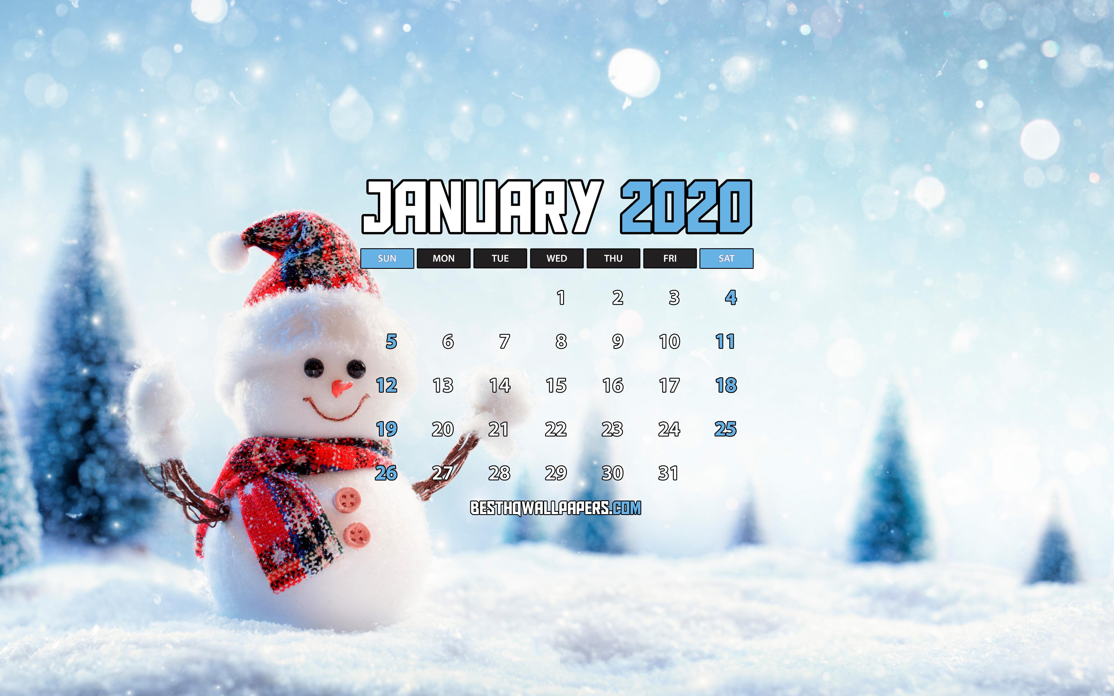 Обои На Рабочий Стол Январь 2020