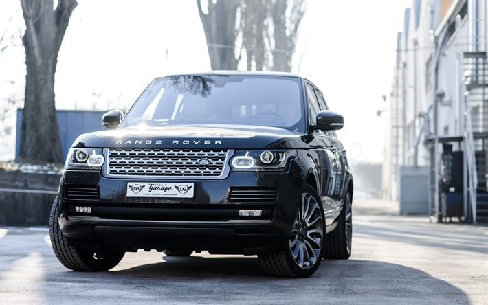 Download Wallpapers Land Rover Range Rover Vogue Luxury