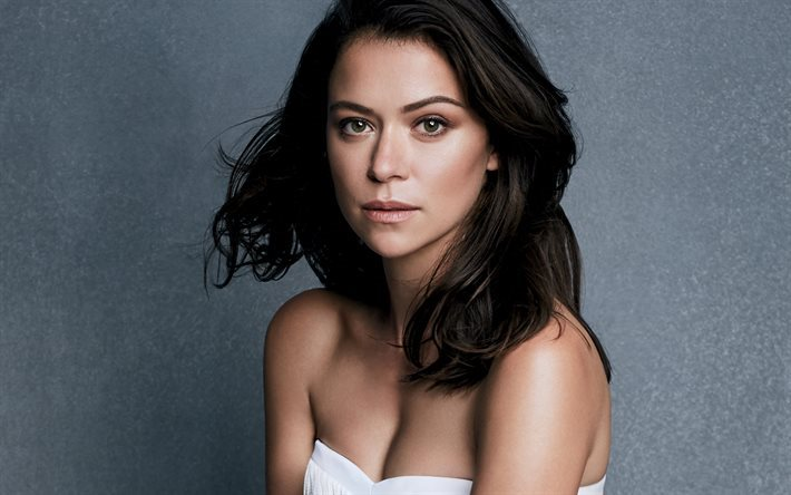 Tatiana Maslany, Canadian actress, portrait, beautiful woman, brunette