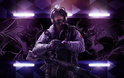 Tom Clancys Rainbow Six Siege, 4k, Operation Velvet Shell, 2017 games, characters, Jackal