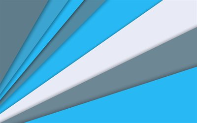 android, blue and gray, material design, lollipop, lines, creative, geometry, colorful background