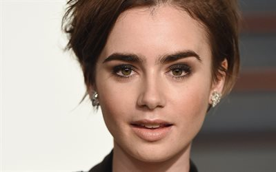 4k, lily collins, hollywood, 2018, amertican schauspielerin, fotoshooting, portrait, beauty