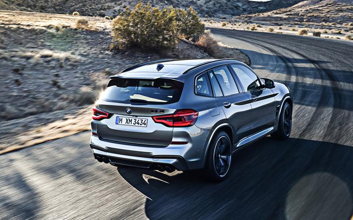 Scarica sfondi 2020, BMW X3, M Competizione, X3M, vista posteriore ...