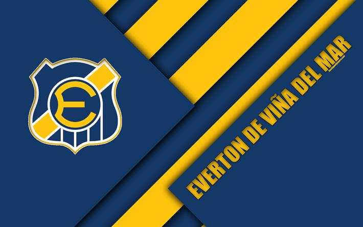 American Sports Material Wallpapers: Download Wallpapers Everton De Vina Del Mar, 4k, Chilean