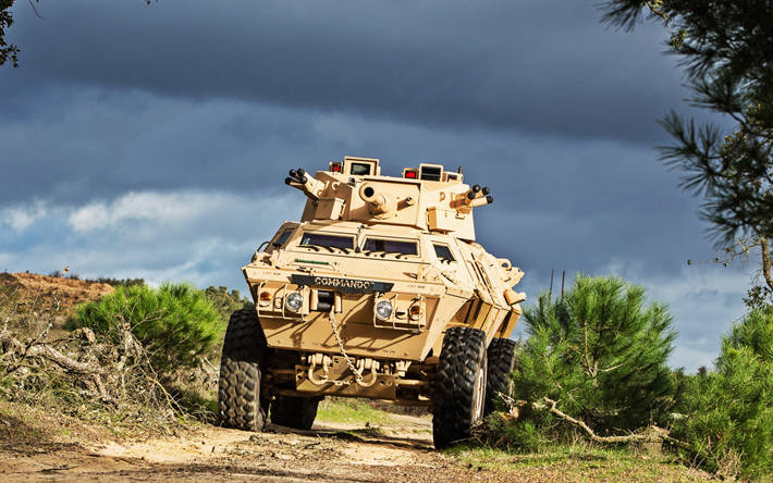 M1117 Armored Security Vehicle, American armored personnel carrier, armored vehicle, American army, sand camouflage, modern armored vehicles, USA, Cadillac Gage