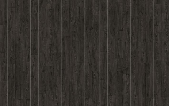 Scarica Sfondi Nero In Tavole Di Legno Macro Nero Legno Texture