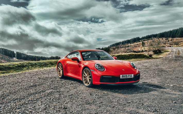 Descargar Fondos De Pantalla Porsche 911 Carrera S El 4k