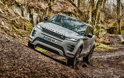 Range Rover Evoque, 4k, offroad, 2019 cars, tuning, Land Rover, 2019 Range Rover Evoque, L551, Range Rover