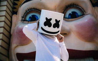 DJ, Marshmello, celebrity, progressive house