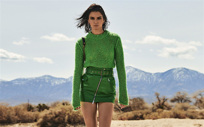 Vestido verde kendall jenner